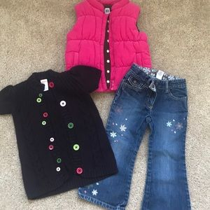 GYMBOREE fall/winter for girl 3,GORGOUES!